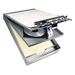 Cruiser Mate Aluminum Storage Clipboard, 1 Capacity, 8 1/2 x 12, Silver, Sold as 1 Each