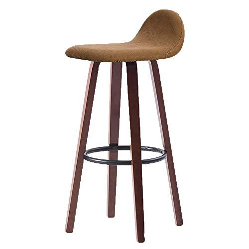 Chenyang86 Chair - Chaise de Bar arrière Minimaliste Moderne en Fer forgé (Couleur : 4, Taille : 37 * 41 * 82cm)