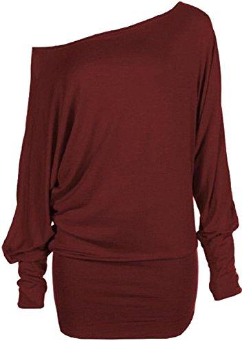 XClusive plusDamen robe Bordeaux