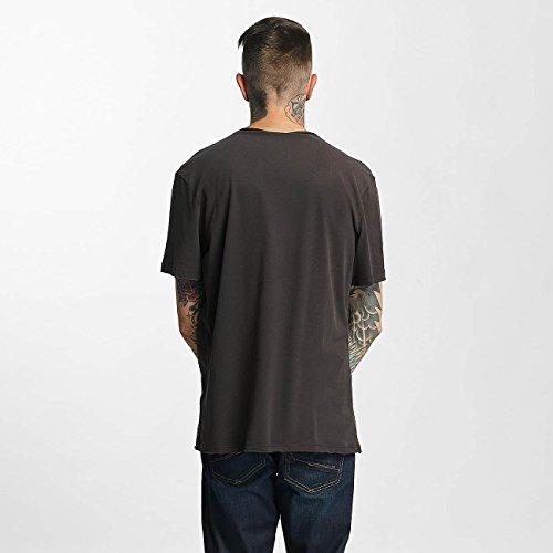 Amplified Herren Oberteile/T-Shirt Wu Tang Logo Grau