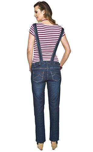 Schwangerschaftslatzhose, Schwangerschaftsjeans, Umstandshose von Torelle, hochwertige Baumwolle, Modell: TALAS Jeansblau