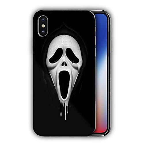 Hartschale mit Scream Design Kompatibel mit iPhone X 5,8in (hallo29)