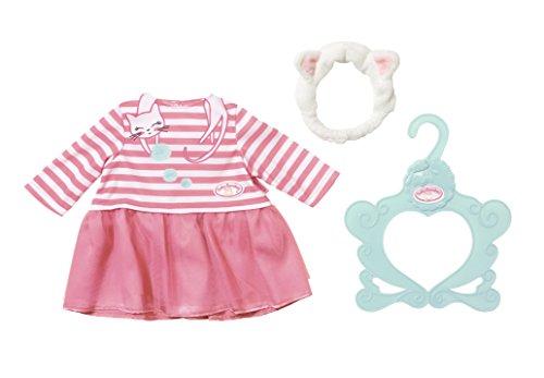 Zapf Creation 701454 Baby Annabell Kleid Katzenberger, bunt