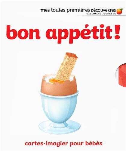 Bon appétit ! : Cartes-imagier pour bébés por Collectif