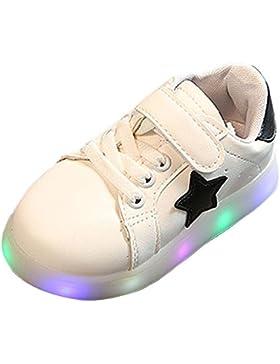 BOZEVON LED Sneakers di Pattini Casuali Lampeggianti Sportive Scarpe da Tennis del Ragazzo e Ragazza per Bambini...