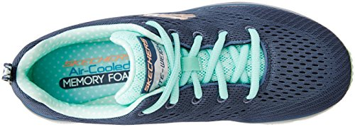 Skechers Damen Fashion Fit Statement Piece Sneakers versilbert (SLT)
