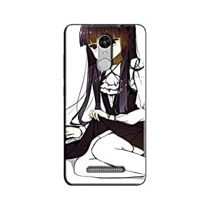 FLOWER GIRL BACK COVER FOR XIAOMI REDMI NOTE 3