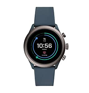 Fossil Sport Unisex Smartwatch 43mm Smokey Blue - FTW4021