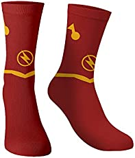 The souled store Cotton and Printed mens womens, Boys and girls The Flash: Logo Socks