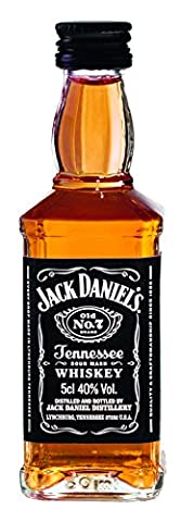 Jack Daniel's Old No.7 Tennessee Whiskey (10 x 0.05