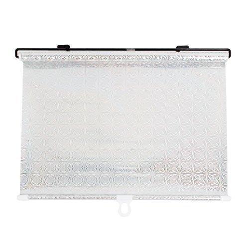 DealMux 40 x 125cm Silber-Ton-Auto-Auto-Fenster-Windschutzscheiben-Farbton-Masken