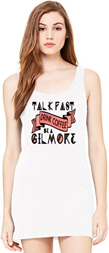 Be A Gilmore Sleeveless Tunic Tank Dress For Women| 100% Premium Cotton| DTG Printing| Unique & Custom Robes, Skirts, Drapes, Evening Tunics & Clothing By Wicked Wicked