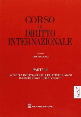 Corso di diritto internazionale: 3