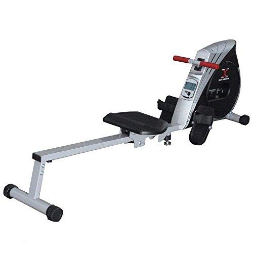MAXSTRENGTH  Zusammenklappbar Rudergerät Home Fitnessraum Rower Cardio Workout