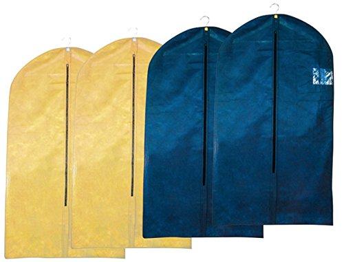 ReiTrade - Portatrajes de viaje blau/schwarz/beige/sandfarben 105 x 60 cm
