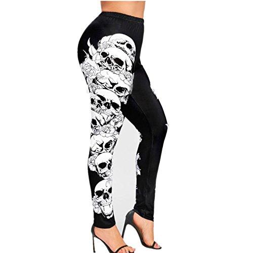 Pantalones de Yoga Tallas Grandes Para Mujer, LILICAT XL~5XL,...