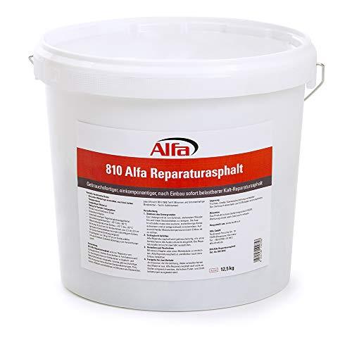 25kg Reparaturasphalt Kaltasphalt Körnung 0 bis 5 mm zur Ausbesserung von Schlaglöchern im wiederverschließbaren Eimer, Reparatur Asphalt