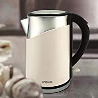 Crownline 1.8 Liter Cordless Kettle - KT-179W Off White
