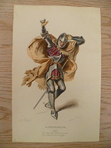 Kostüm De Marie Paris - La Convercion S. Pol. Kolorierter Stahlstich