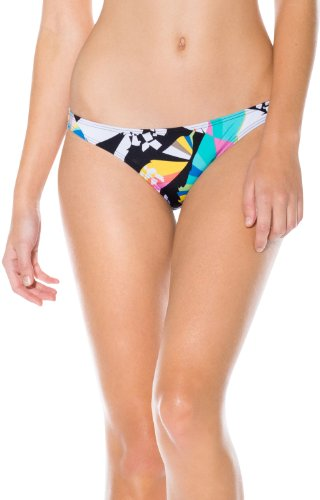 Volcom - - Frauen Reality Bites Full Coverage Bikini Bottom, X-Large, Multi