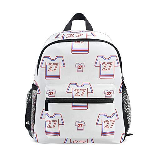 Kinderrucksack American Football Uniform Kindergarten Vorschule Tasche für Kleinkind Mädchen Jungen