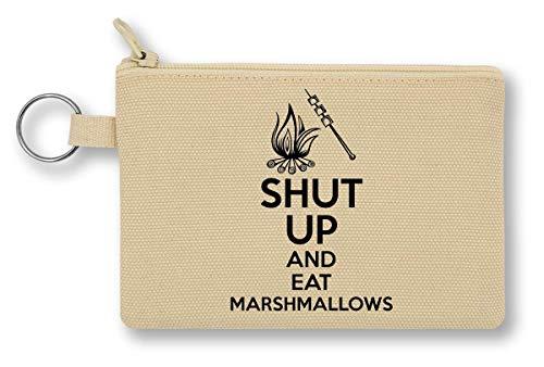 Shut Up and Eat Marshmallows Geldbörse mit Reißverschluss