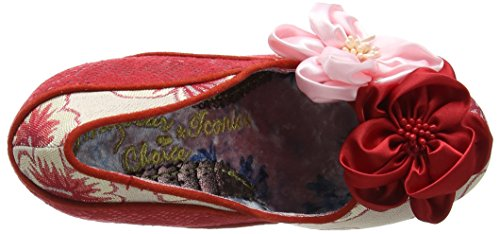 Irregular Choice Damen Peach Melba Pumps, Rose Red (Red/Pink)