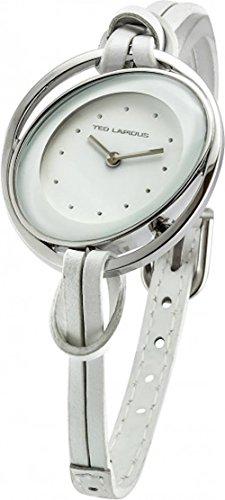 Ted Lapidus A0606RAPF - Reloj de pulsera mujer, piel, color blanco