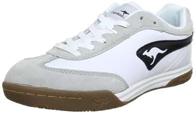 KangaROOS Speedball, Herren Sneakers, Weiß (wht/blk 005), 41 EU