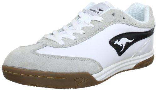 Wht Blk Herren Sneakers (KangaROOS Speedball, Herren Sneakers, Weiß (wht/blk 005), 43 EU)