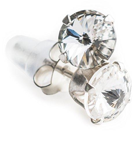 SWAROVSKI Kristall besetzter Ohrstecker aus 925er Silber T20-6
