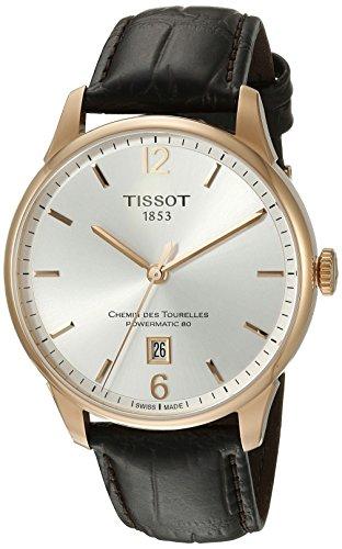TISSOT CHEMIN DES TOURELLES HERREN-ARMBANDUHR AUTOMATIK T099.407.36.037.00 (Tissot Uhren Männer Luxus)