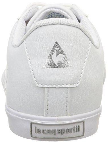 Le Coq Sportif  Agate Lo,  Sneaker Donna Bianco (Optical White/Old Si)