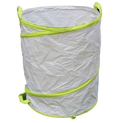 DEI QI Poubelle de jardin plantes plantes sacs pour nettoyage de pelouse jardin feuille de jardin réutilisable mauvaises herbes poubelle seau seau sac portable pliable poubelle laisse sac poubelle ext
