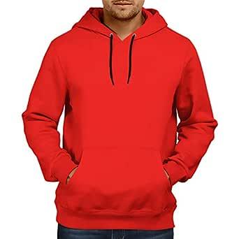 CupidStore Men's Basic Plain Hoodie