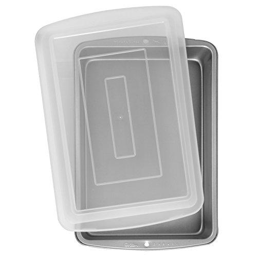 Wilton Recipe Right - Molde rectangular con tapa
