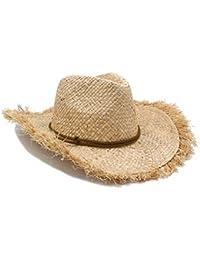 Ericcay Sombrero De Sol Mujer Hombre Hombre Hecho con A Puro Estilo único  Mano Verano Mujer 3ef1a02e5548