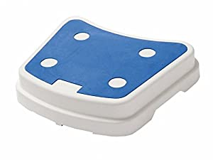Trendi Anti Slip Bath Step Elderly Shower Stepping Disability Mobility Aid Door Walking Stool | Stack-able for More Height Adjustment | Bathroom Safety Aid | Grip Step | Bathroom Disability Aid