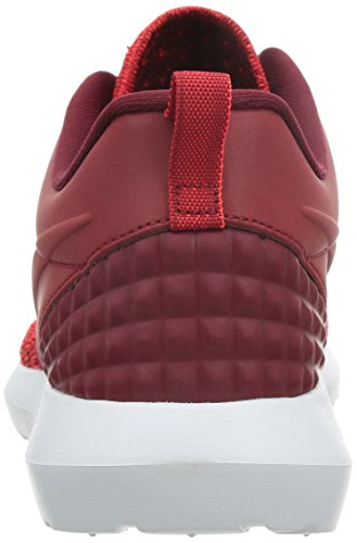 Nike Herren Roshe Nm Flyknit Prm Laufschuhe, Blau, 44,5 EU Rot / Weiß (Gym Rd/Gym Rd-Tm Rd-Brght Crms)