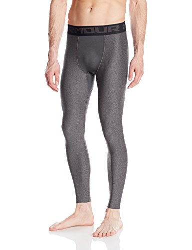 Heatgear Compression Legging Fit (Under Armour HeatGear 2.0 Leggings, Herren 3XL Carbon Heather)