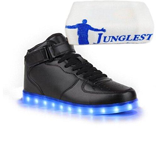 (Présents:petite serviette)JUNGLEST® - Baskets Lumin High-Top de Velcro Noir