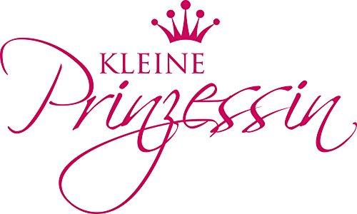 GRAZDesign 730037_50_041 Wandtattoo Babyzimmer für Kinderzimmer Spruch Kleine Prinzessin - Mädchen (83x50cm//041 Pink)