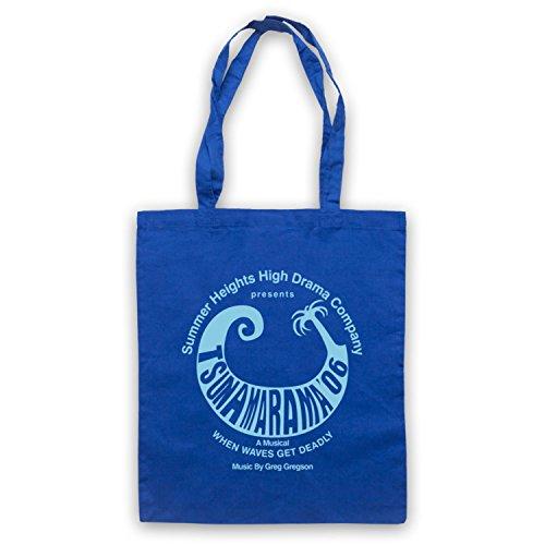Inspiriert durch Summer Heights High Tsunamarama Inoffiziell Umhangetaschen Blau