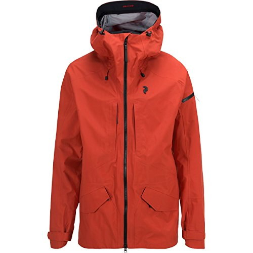 peakperformance Teton Jacke M Polyamid Orange
