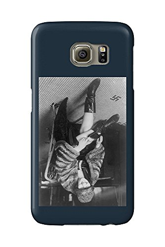 Woman with a Flask in Her Boot Photograph (Galaxy S6 Cell Phone Case, Slim Barely There) - Womens Slim Boot