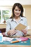 25 Blatt Kraftpapier A5 Set - 260 g - 14,8 x 21 cm - DIN Format - Bastelpapier & Naturkarton Pappe Blätter aus Kraftkarton zum Drucken, Kartonpapier Basteln für Vintage Hochzeit Geschenke Etiketten - 4