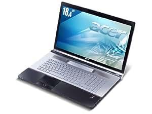 "Acer Aspire 8943G-624G1TMn Ordinateur portable 18,4"" Intel Core i7 620M 1000 Go RAM 4096 Mo Windows 7 ATI Mobility Radeon HD 5850"