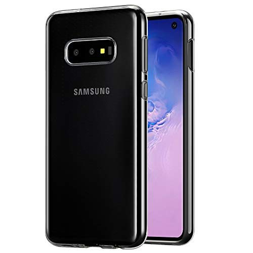 AhaSky Hülle Kompatibel mit Samsung Galaxy S10E Hülle, [Ultra Transparent Silikon Gel TPU Soft] Cover Case Schutzhülle Kratzfeste mit Schock Absorption und Anti Scratch für Galaxy S10E Schutzhülle Silikon Cover