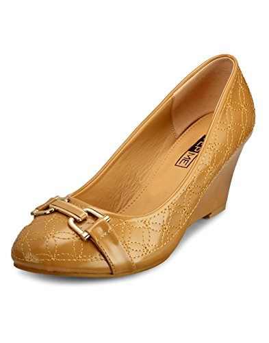 Yepme Women's Brown Synthetic Bellies