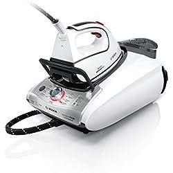 Bosch TDS38311ES - Centro de planchado, 3100 W, presión de vapor de 6,5 bar, color blanco